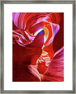 Secret Canyon 1 Framed Print by ABeautifulSky Photography