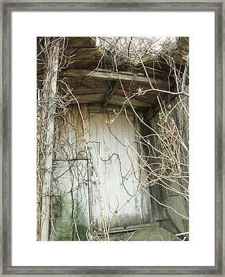 Secret Door Framed Print by Todd Sherlock