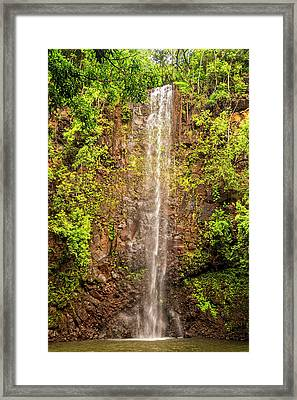 Secret Falls Framed Print by Brian Harig