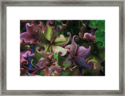 Secret Garden Framed Print by Barbara  White