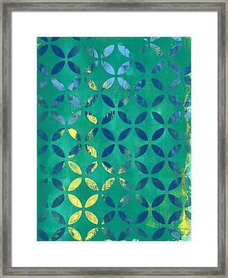 Secret Garden Framed Print by Lisa Noneman