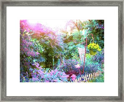 Framed Print featuring the photograph Secret Garden by Susan Carella