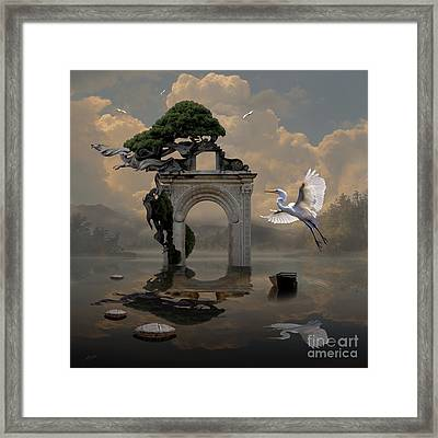 Secret Gate Framed Print