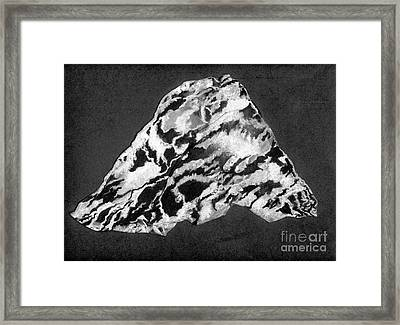 Secret Mountain Framed Print