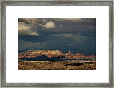 Framed Print featuring the photograph Secret Mountain Wilderness Storm by Ron Chilston