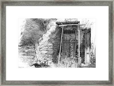 Secret Of The Closed Doors 3 Framed Print