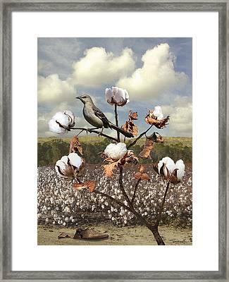 Secret Of The Mockingbird Framed Print