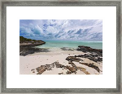 Secret Of West Harbour Framed Print by Chad Dutson