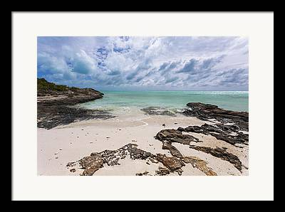 Blue And Green Photographs Framed Prints