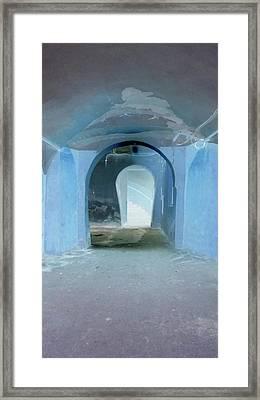 Secret Passage Framed Print by Tetyana Kokhanets