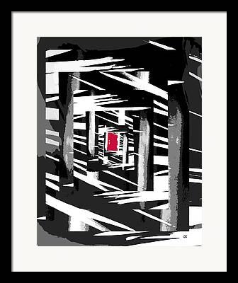 Abstract Digitale Kunst Framed Prints