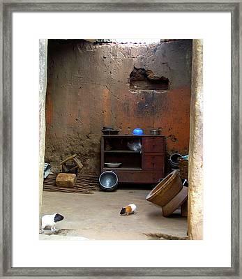 Secret Room Framed Print