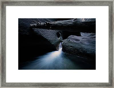 Secret Stream Framed Print by Edgars Erglis