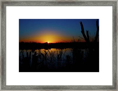 Secret Sunset Framed Print by Mark Andrew Thomas