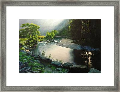 Secret Valley Framed Print by Harry Robertson