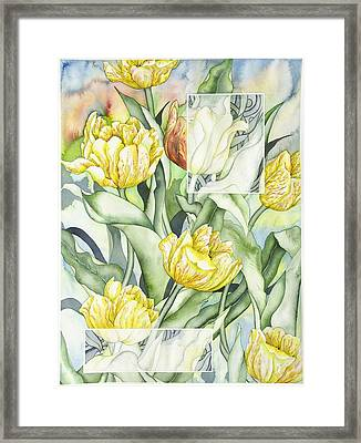 Secret World II Framed Print by Liduine Bekman