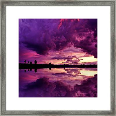 Secret World Framed Print
