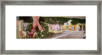 Secrets Du Village Framed Print