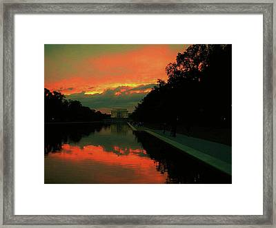 Secrets Of Dc Framed Print