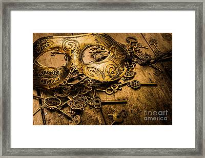 Secrets Of Rome Framed Print