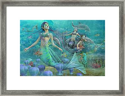 Secrets We'll Never Tell Framed Print by Betsy Knapp