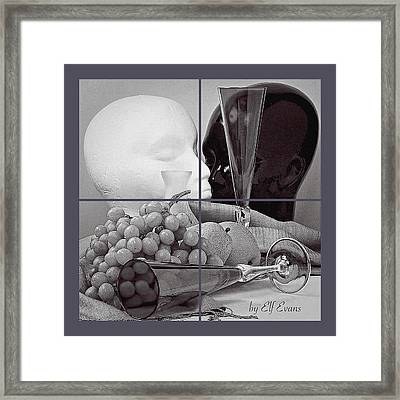 Framed Print featuring the photograph Sections by Elf Evans