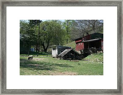 Secure II Framed Print