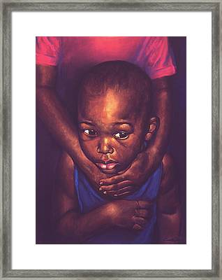 Security Framed Print by Curtis James