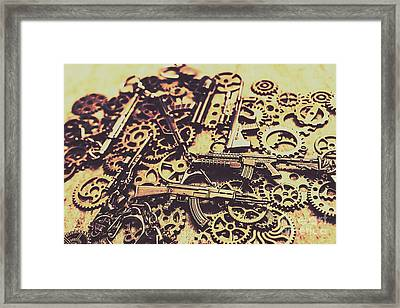 Security Stockpile Framed Print