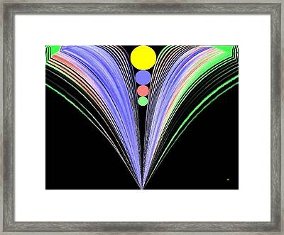 Security Framed Print by Will Borden