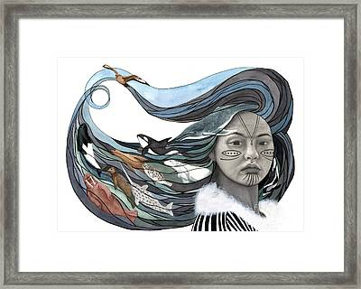 Sedna Framed Print by Antony Galbraith