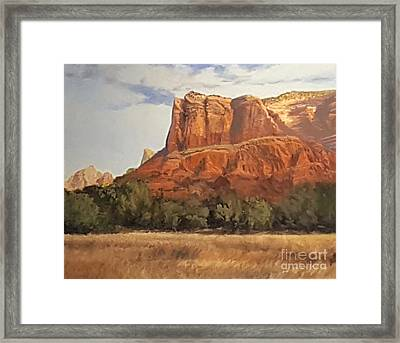 Sedona Afternoon In May Framed Print