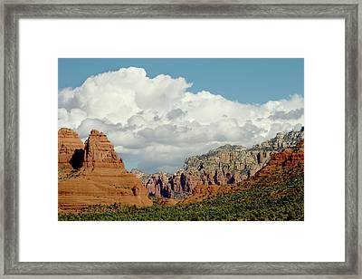 Sedona Arizona Framed Print by Bill Gallagher
