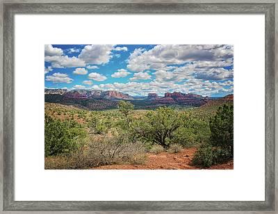 Sedona Arizona Landscape #2 Framed Print