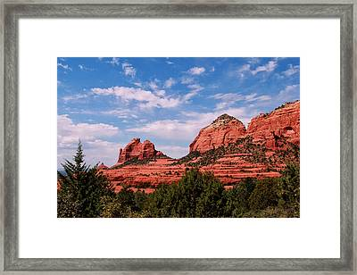 Sedona Az Framed Print by Tom Prendergast