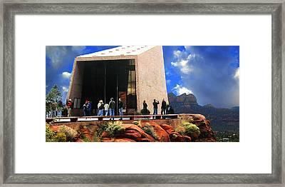 Sedona Church Framed Print