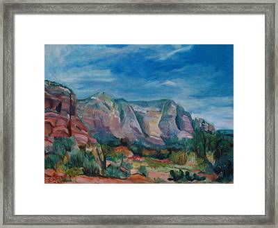 Sedona II Framed Print by Stephanie Allison