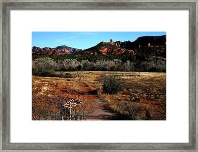 Sedona Framed Print by Jennilyn Benedicto