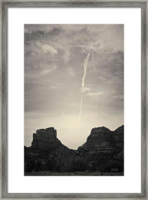 Sedona Landscape No. 4 Framed Print by Davie Gordon