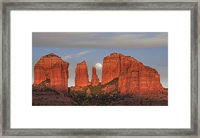 Sedona Moon Framed Print