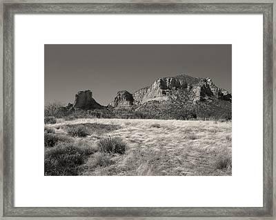 Sedona Morning Framed Print by Gordon Beck