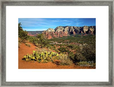 Sedona Morning Framed Print by Jon Burch Photography