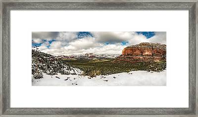 Sedona Outback Framed Print by Brian Oakley Photography