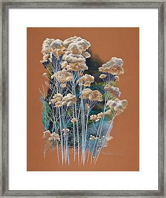 Sedona Rabbit Brush Framed Print