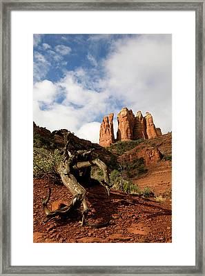 Sedona Red Rocks No. 01 Framed Print