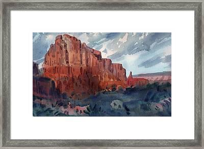 Sedona Redrock Framed Print