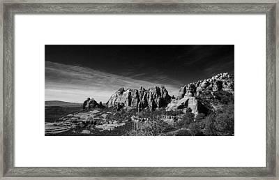 Sedona Reversed Framed Print