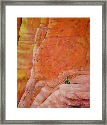 Sedona Rocks Framed Print