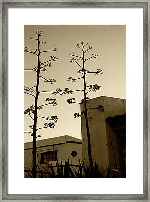 Framed Print featuring the photograph Sedona Series - Desert City by Ben and Raisa Gertsberg