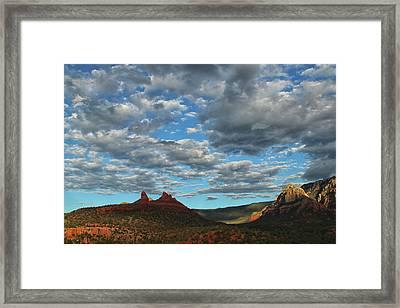 Sedona Skies 0013 Framed Print